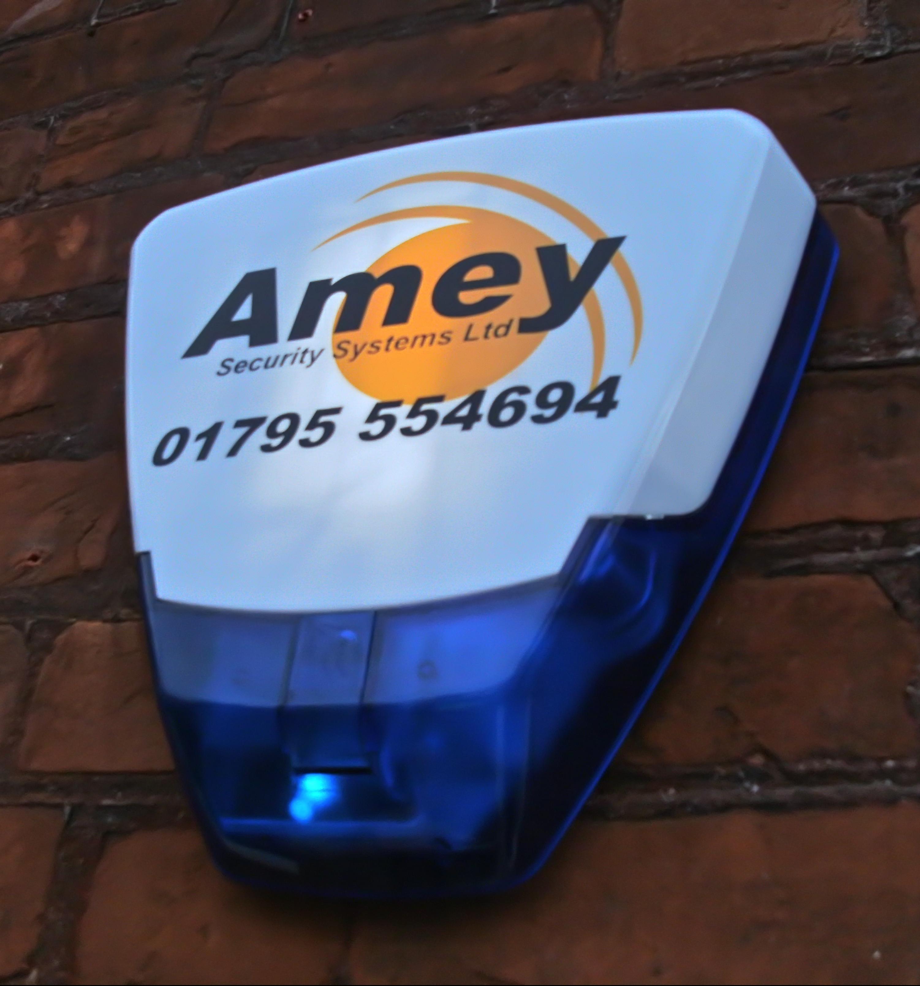 Deltabell back-lit premium burglar alarm sounder